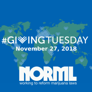 NORML Giving Tuesday