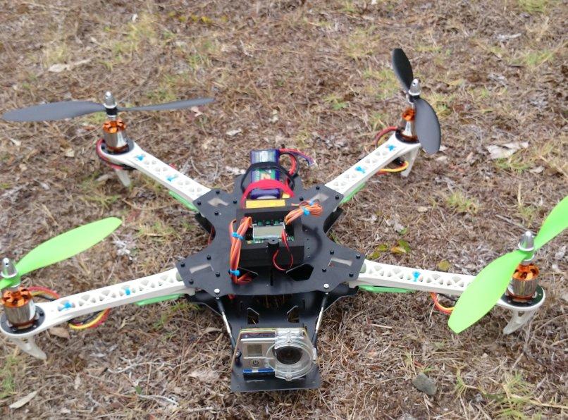 dead cat conversion kit for sk450 quadcopter frame