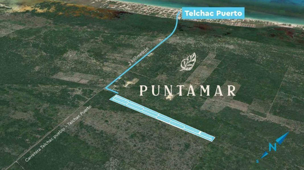 Venta Lotes Semi Urbanizados Telchac Yucatán