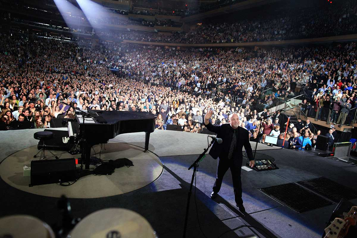 Billy Joel at Madison Square Garden: ♪ Oh, oh, oh — for the 100th ...