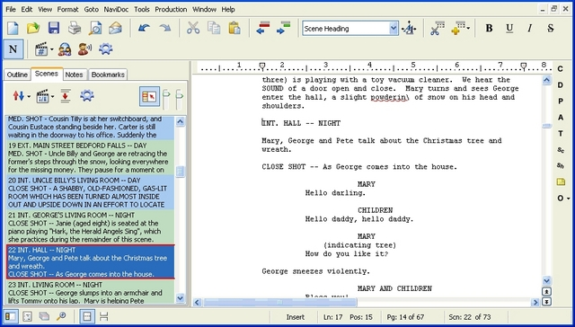 The Movie Expert Utilizing Word for Screenwriting