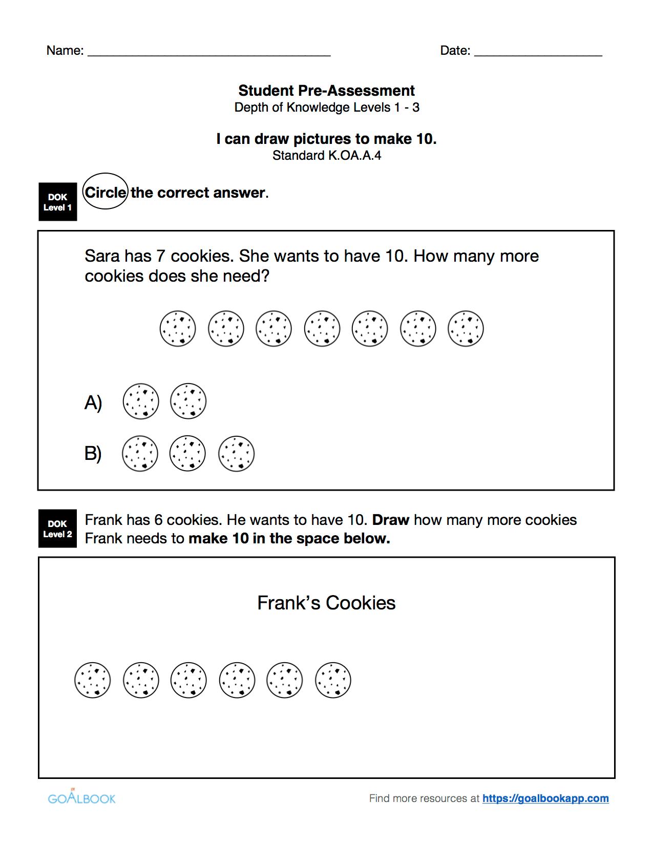 K Oa 4 Worksheet