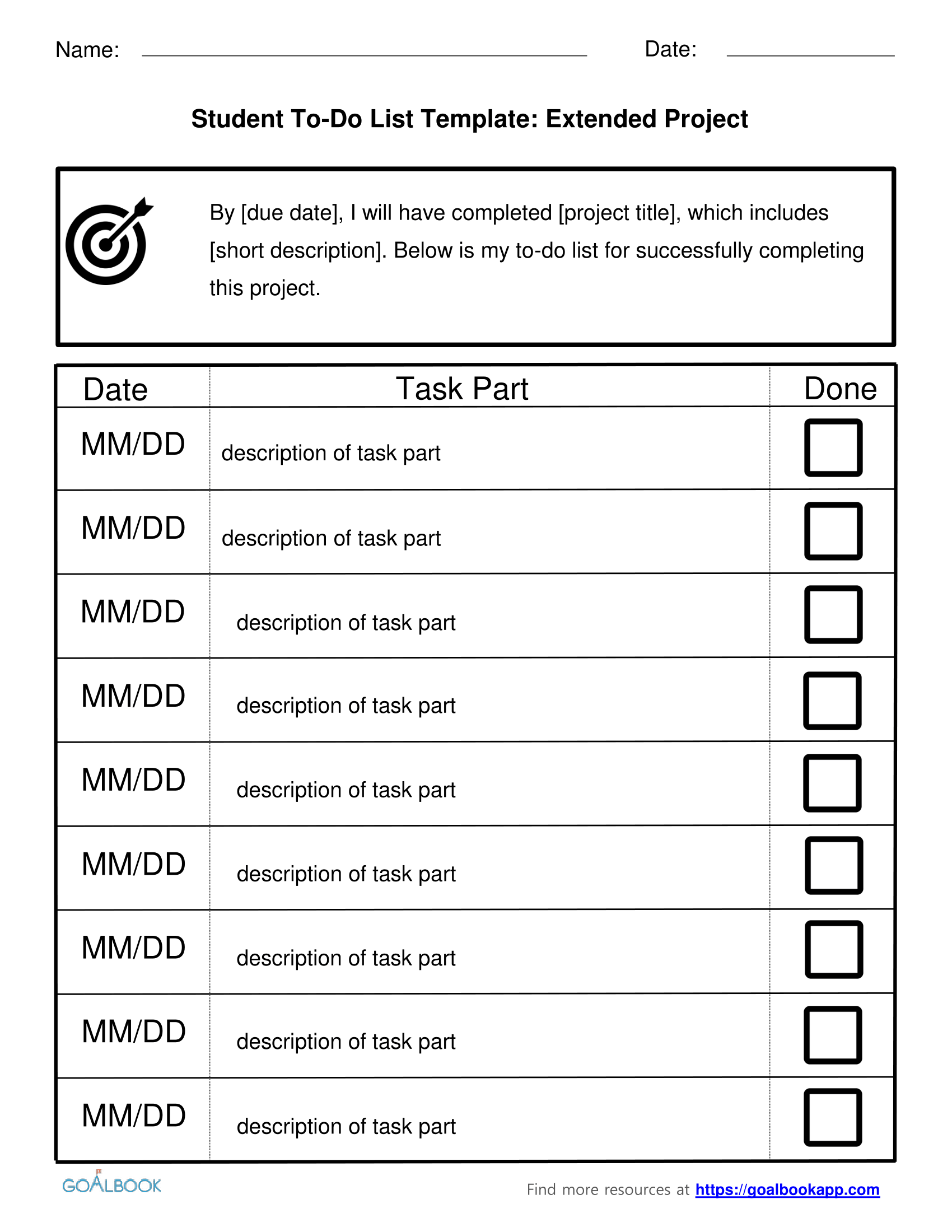 Worksheet Visual Memory Tasks