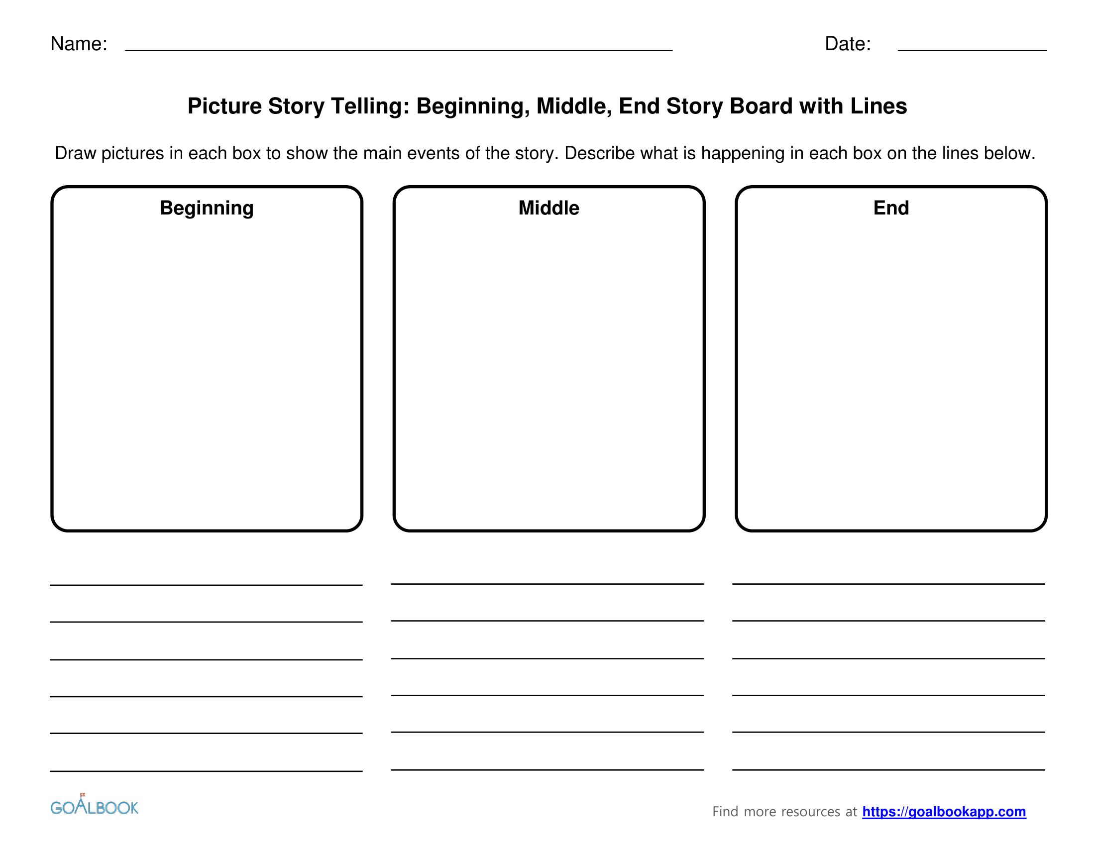 Worksheet Beginning Middle And End Worksheets Worksheet