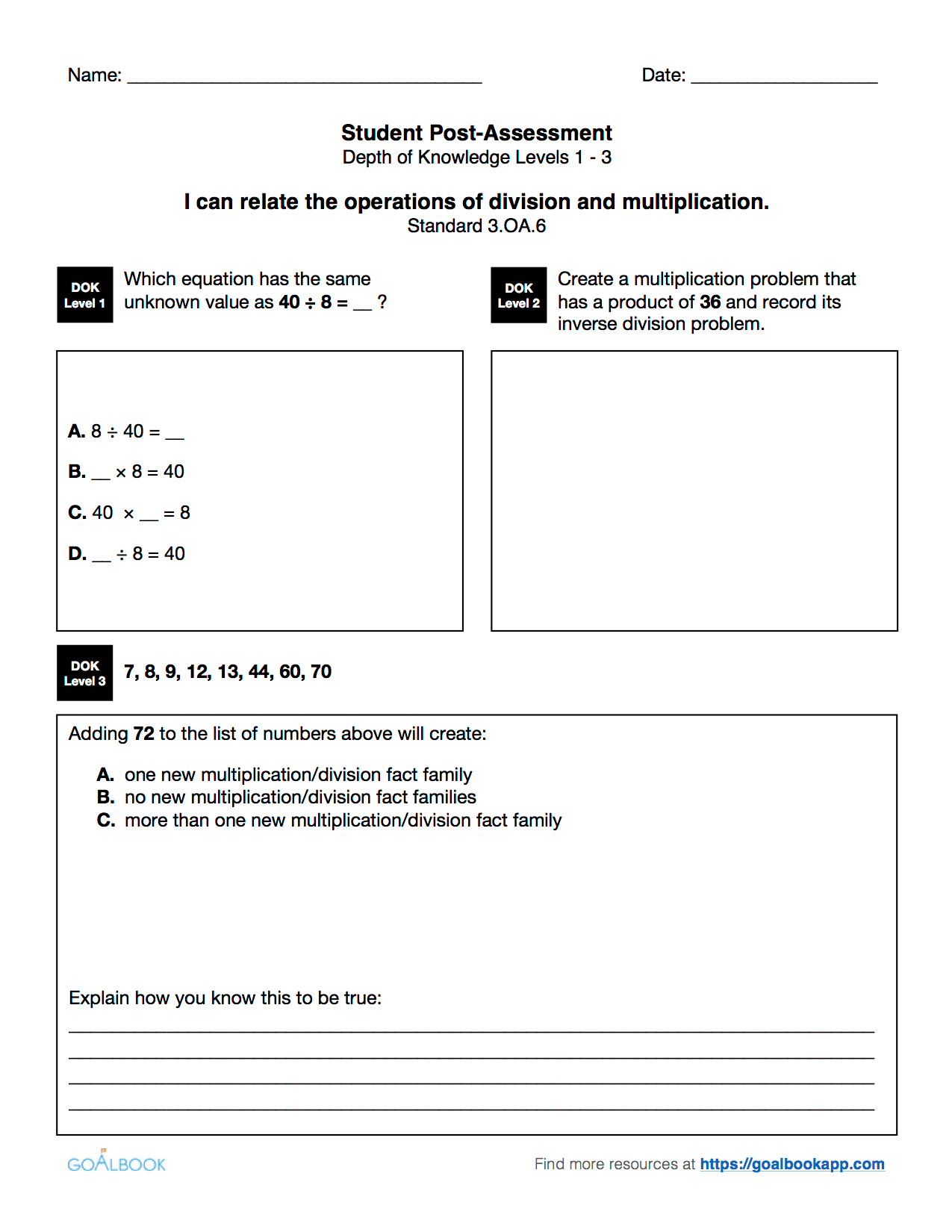 3 Oa 2 Understanding Division Using Objects