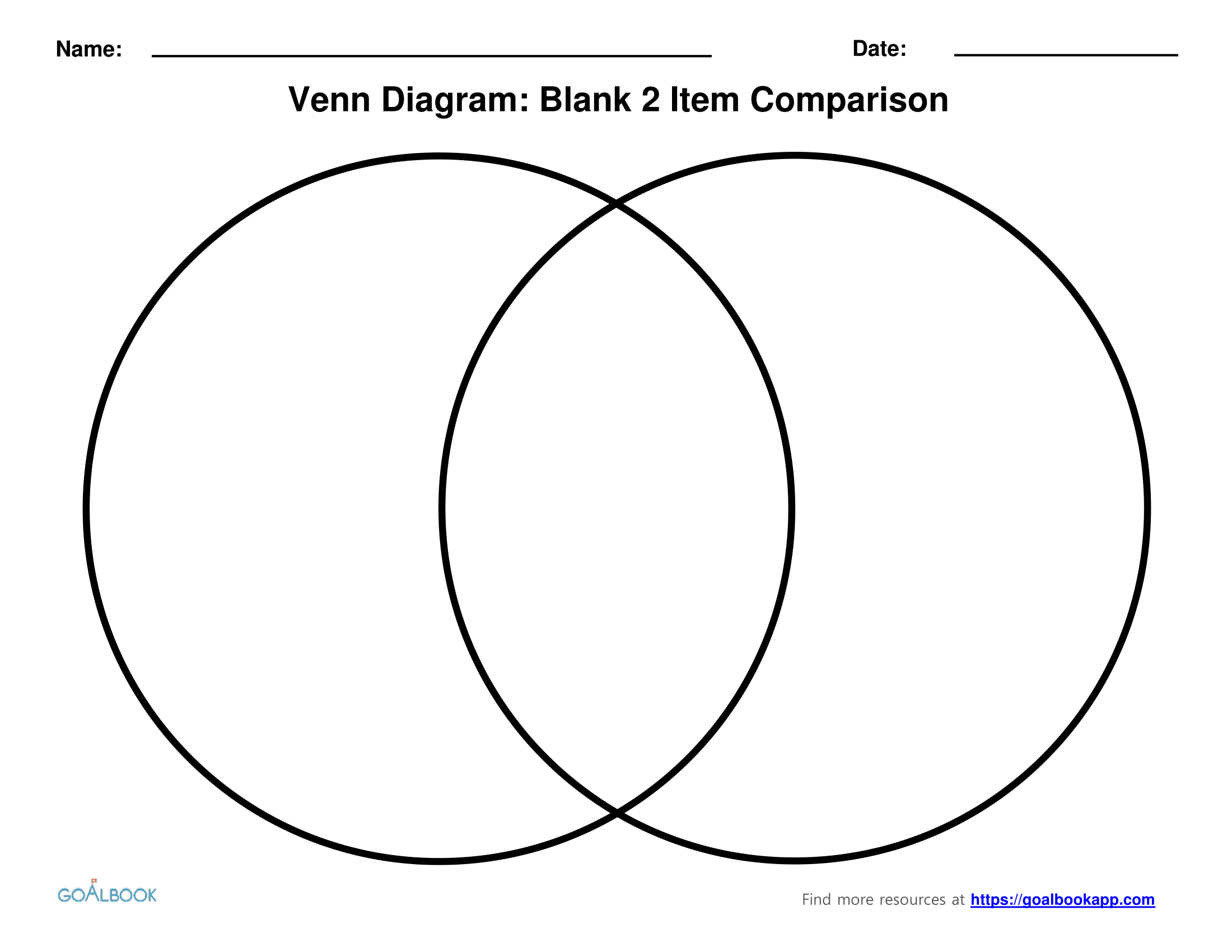 Venn Diagram Worksheet Grade 6