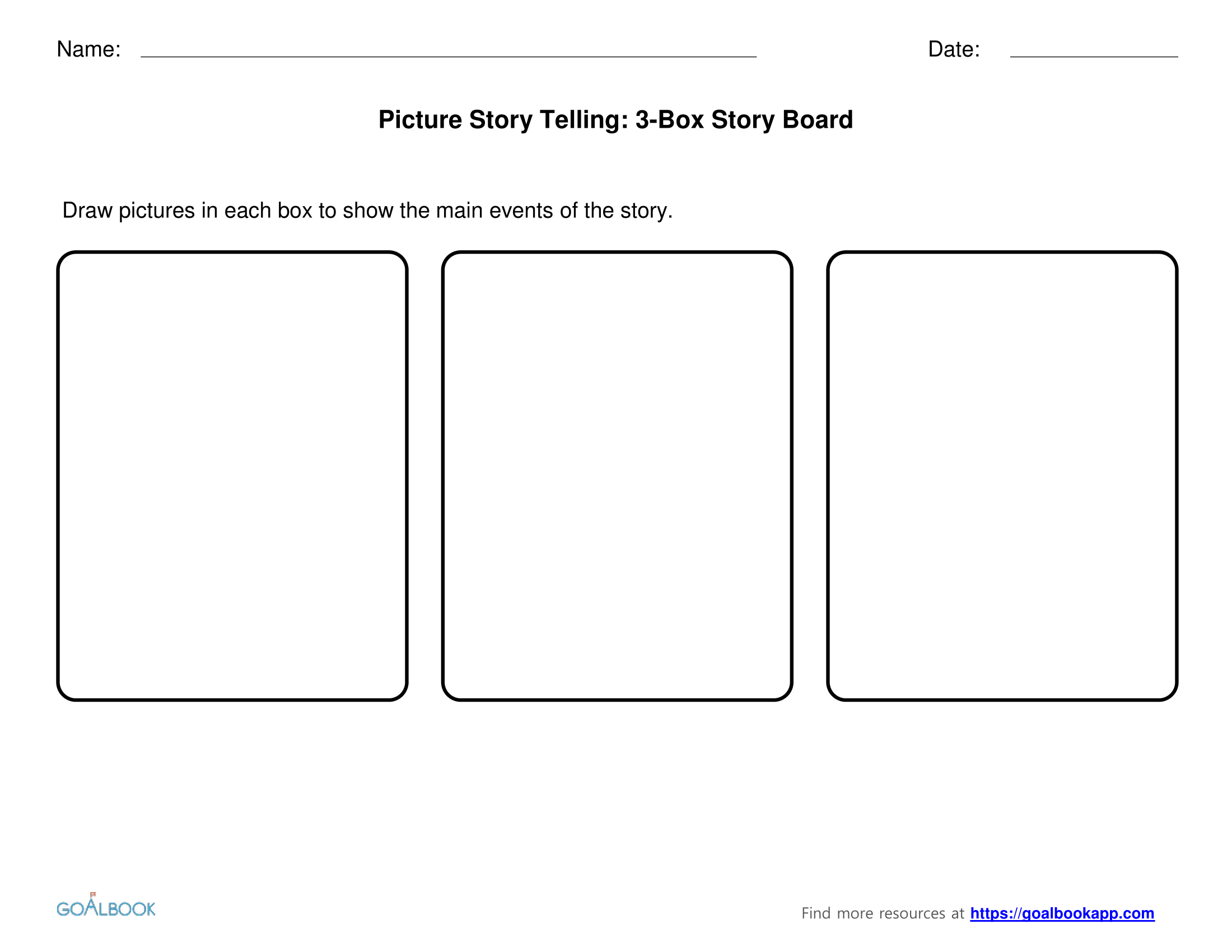 Narrative Graphic Organizer Beginning Middle End