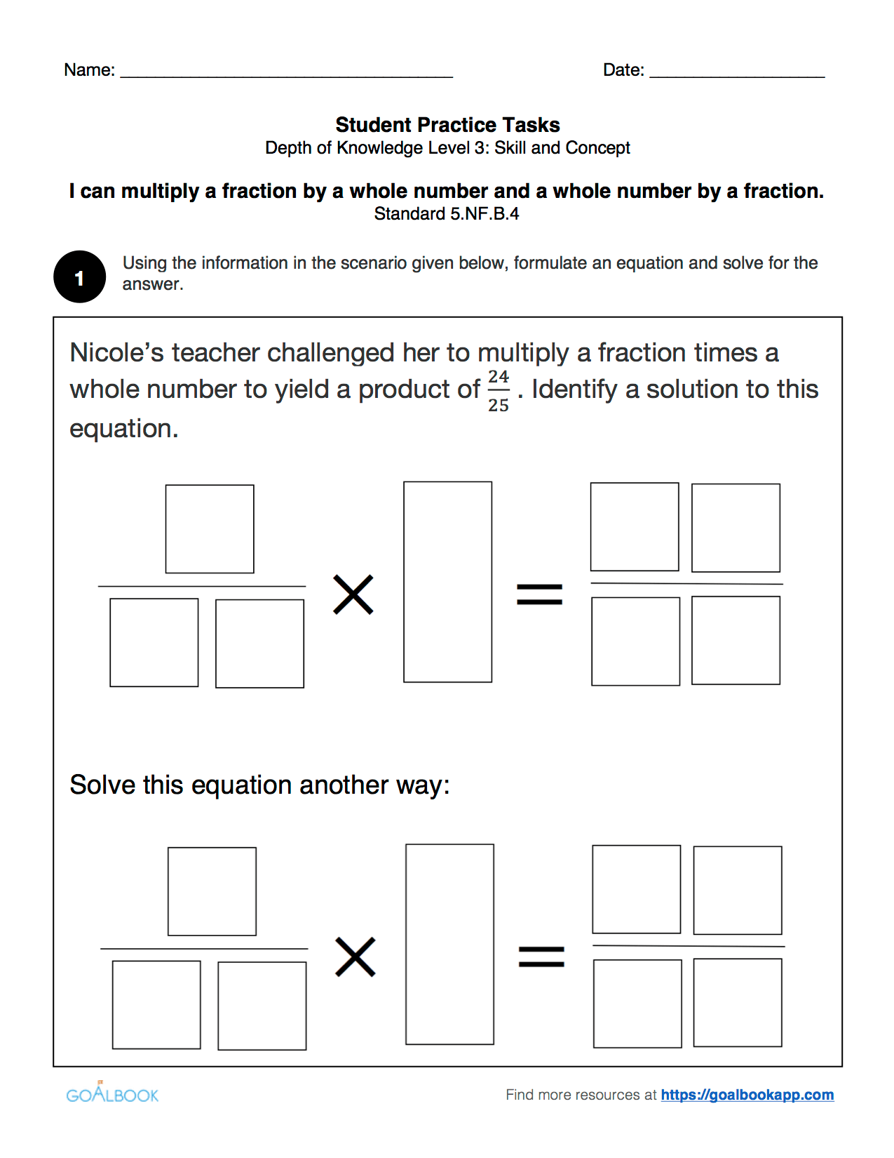 5 4 Multiplication With Fractions