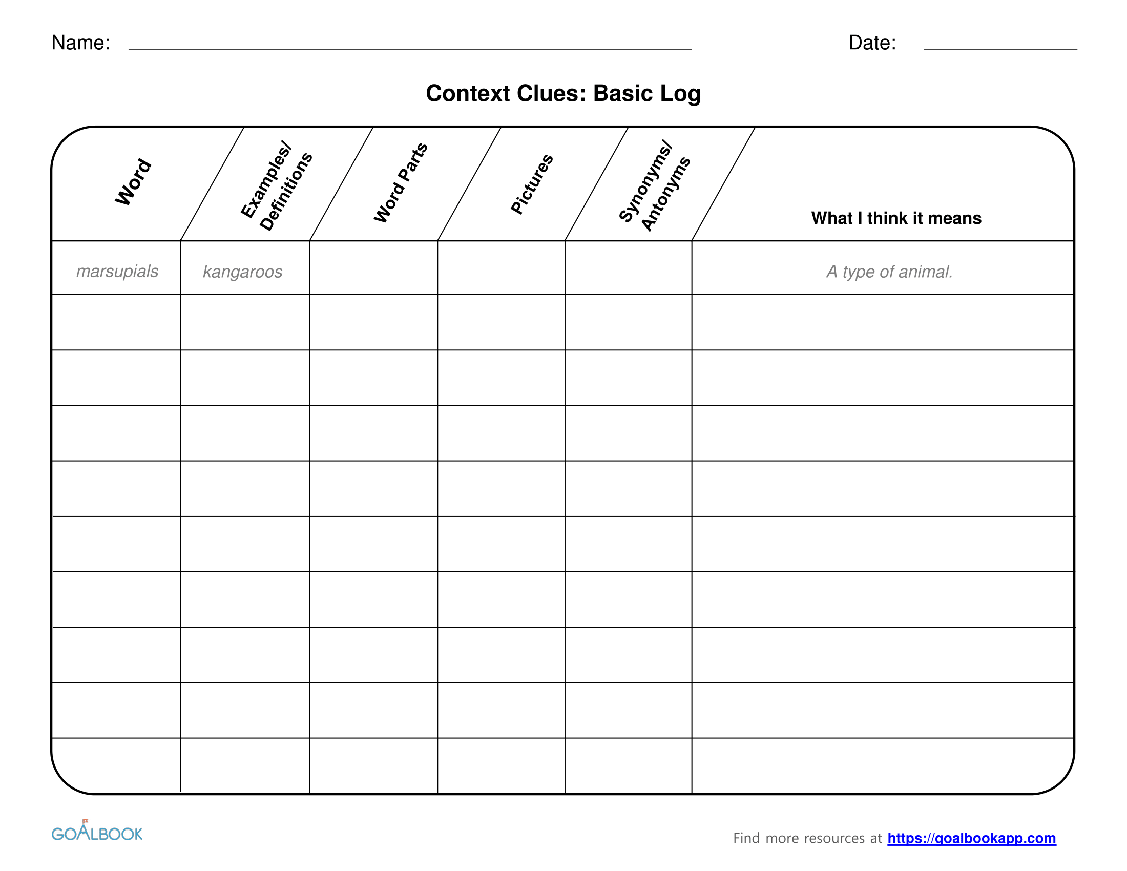 Worksheet Context Clues Worksheets 5th Grade Grass Fedjp