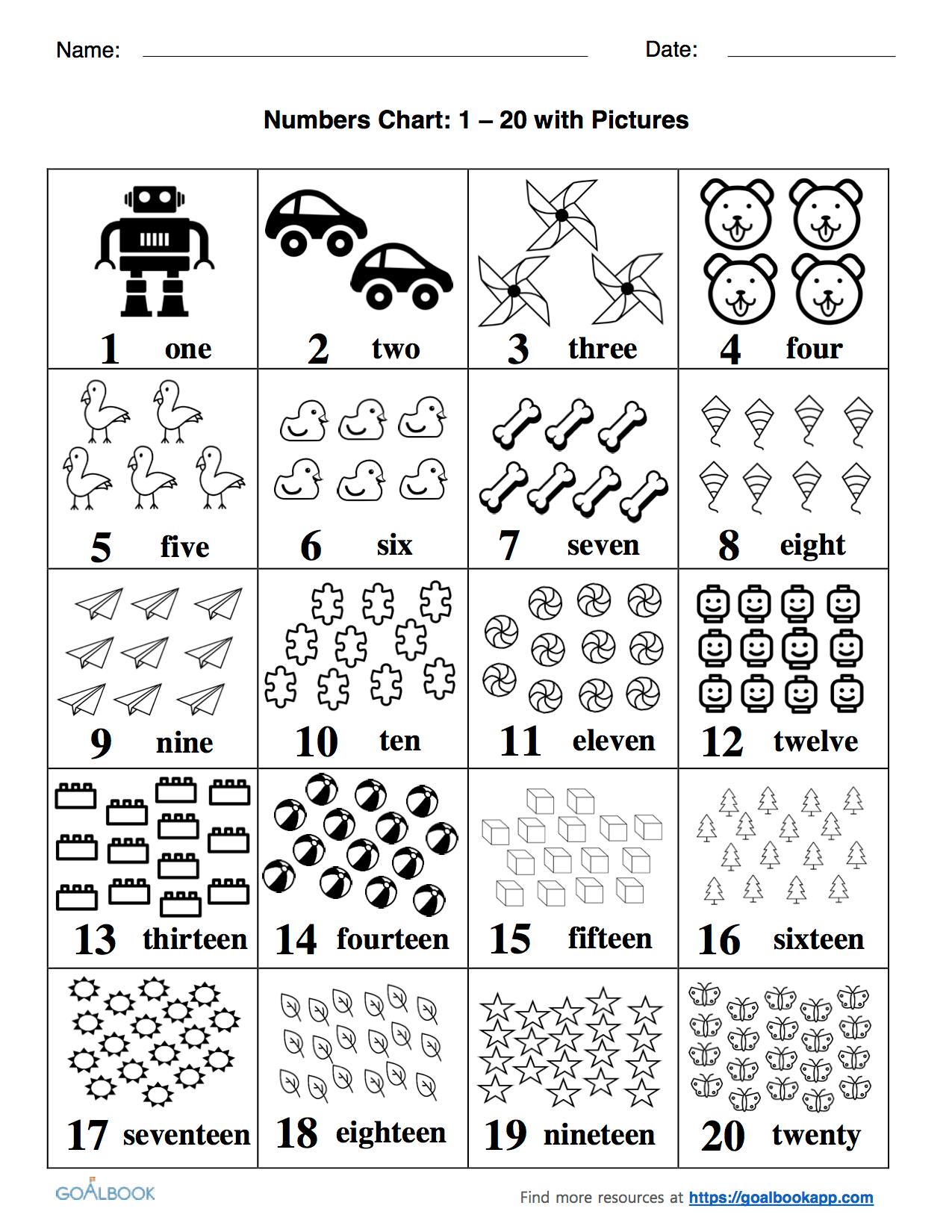 Worksheet Number Chart Worksheet Fun Worksheet Study Site