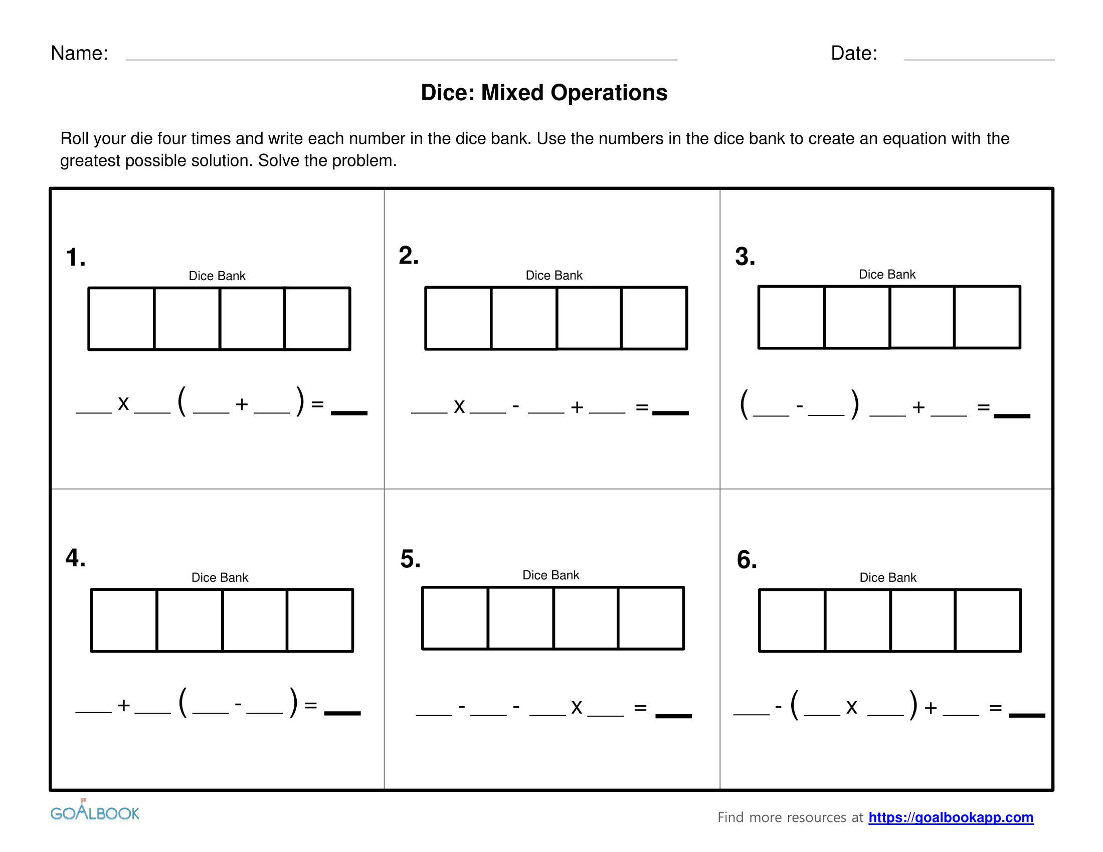5 Oa 2 Write Simple Expressions