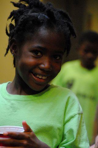 Haiti orphan