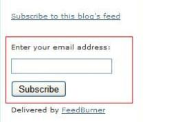 Emailsubscribe