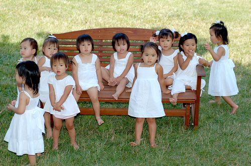 Eight china girls white