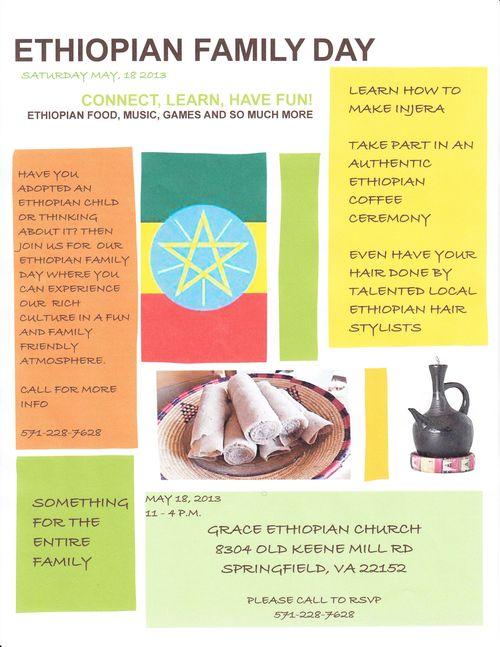 Ethiopia Family Day