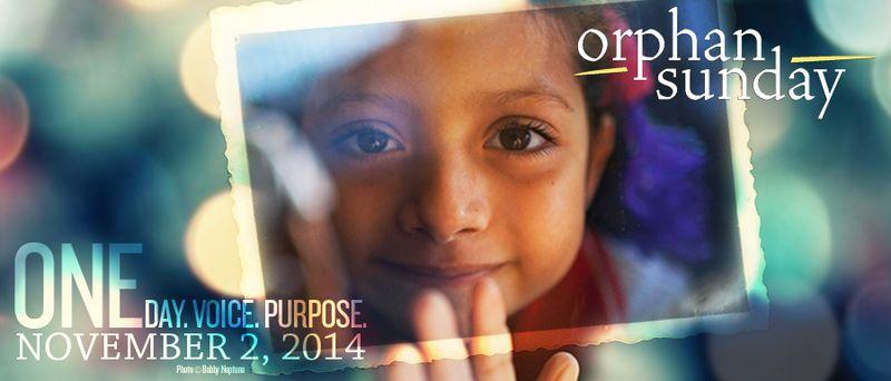 Orphan Sunday 2014