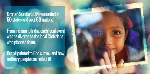 Orphan Sunday 2014 recap