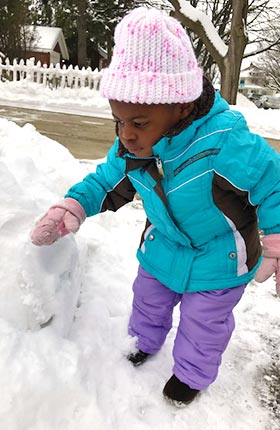 Adopted from Haiti Experiencing Snow