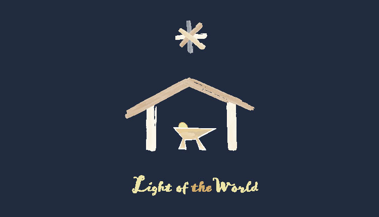 nativity light of the world