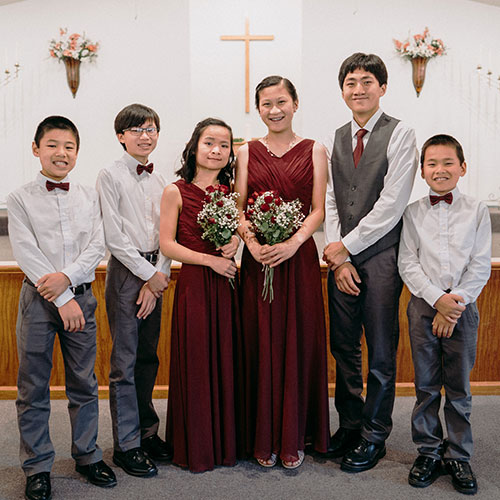 adoption wedding