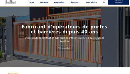 Domfoam - site web