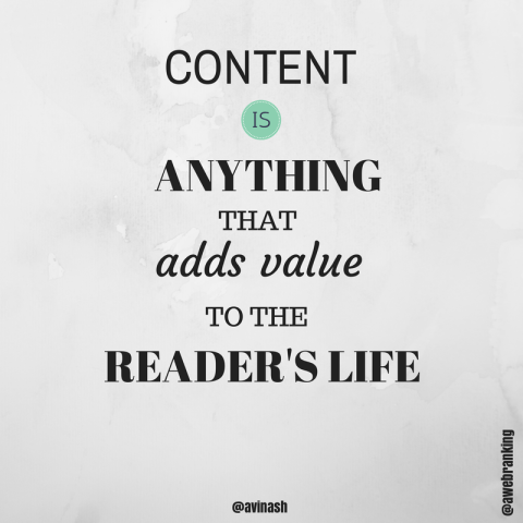 content-adds-value