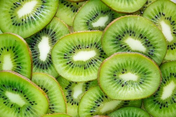 Sour tasting foods like kiwi should be used in moderation on a Pitta diet.
