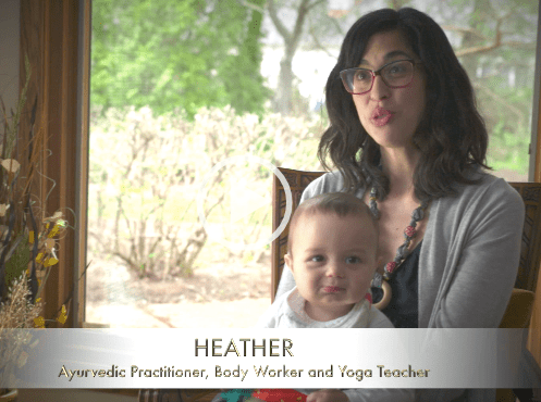 Watch: Heather, Ayurvedic Practitioner + Mother Of Two, Loves Ajara Skincare Products