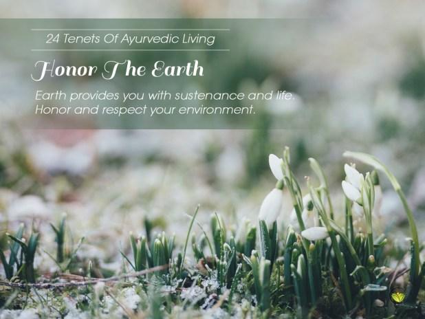 24 Tenets Of Ayurvedic Living