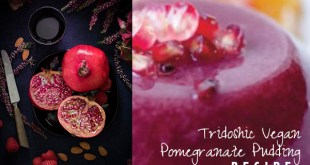 Pomegranate Pudding