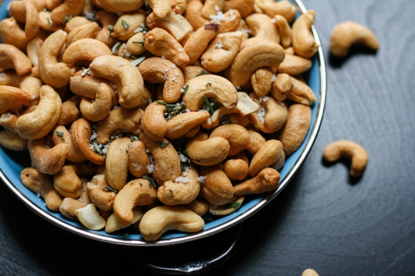 Cashews. Craving salt? Salt cravings? Here's what you need to know.
