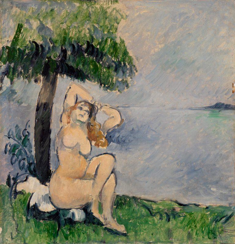 Bather at the Seashore (Baigneuse au bord de la mer)