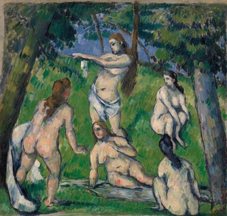 Five Bathers (Cinq baigneuses)