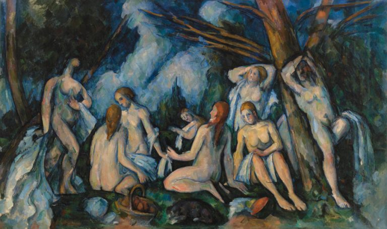 The Large Bathers (Les Grandes baigneuses)