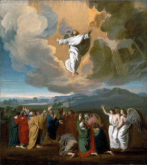 Ascension Day - Jesus ascends to heaven