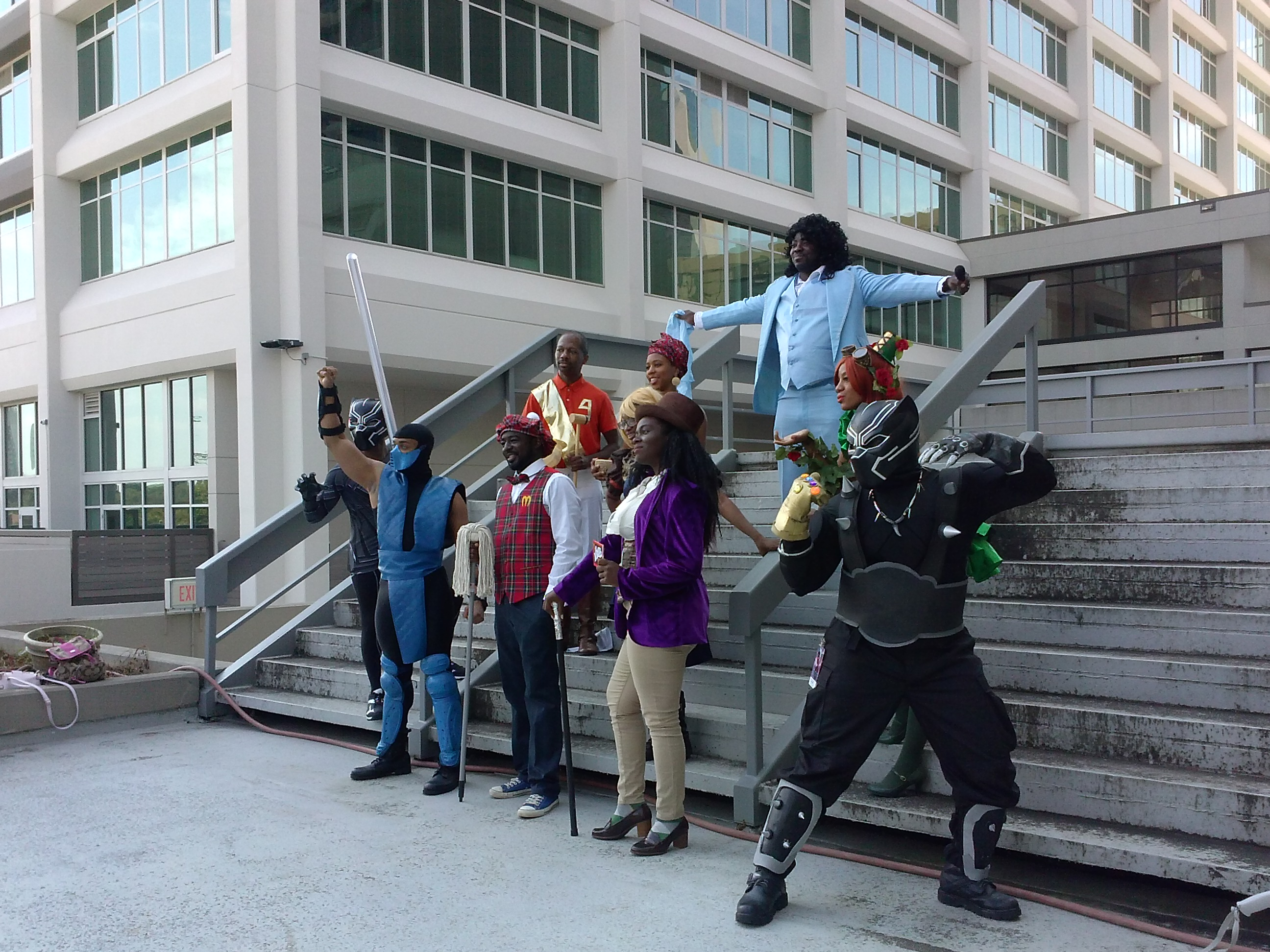 The 2nd Annual Black Geeks Of DragonCon Photo Shoot Was