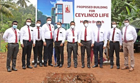 Ceylinco Life advances Green mandate with foundation stone for new Matale  branch - Adaderana Biz English   Sri Lanka Business News