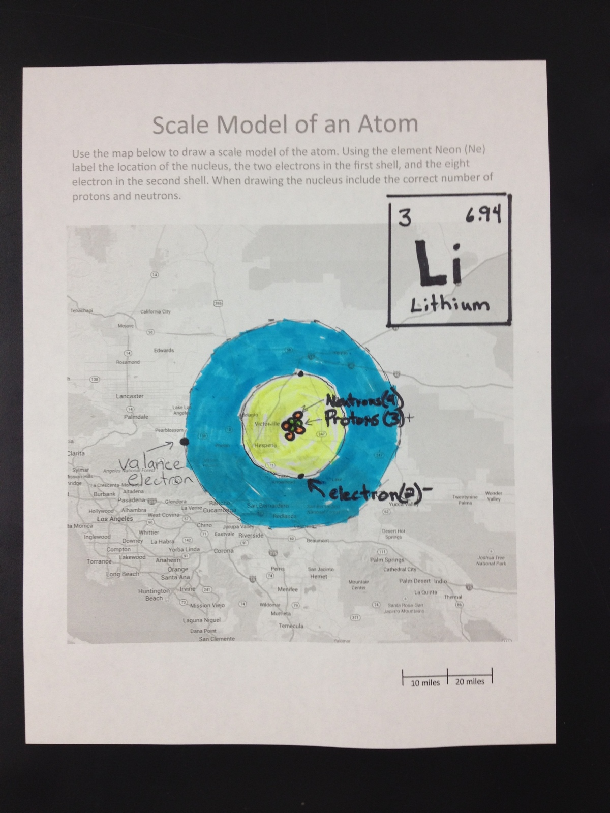 Map Distance Scale Worksheet