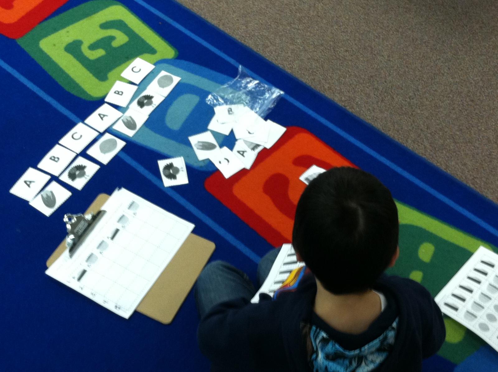Kindergarten Lesson Thanksgiving Patterns