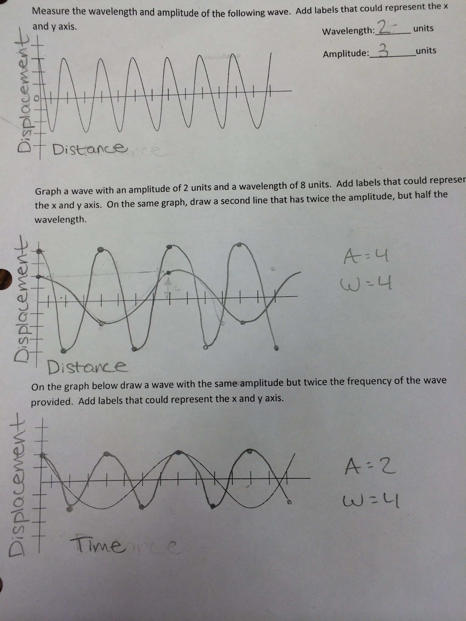 Worksheet 25 Math Skills Wave Speed Answers