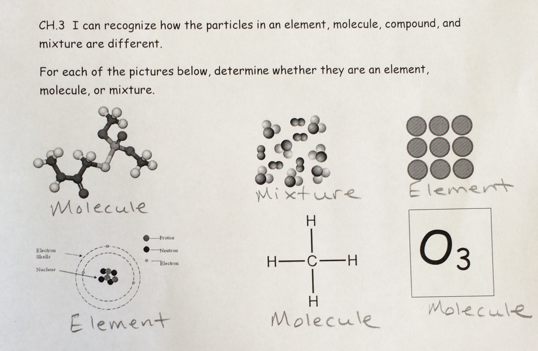 Lesson Crack That Marble Properties Of Matter Labs