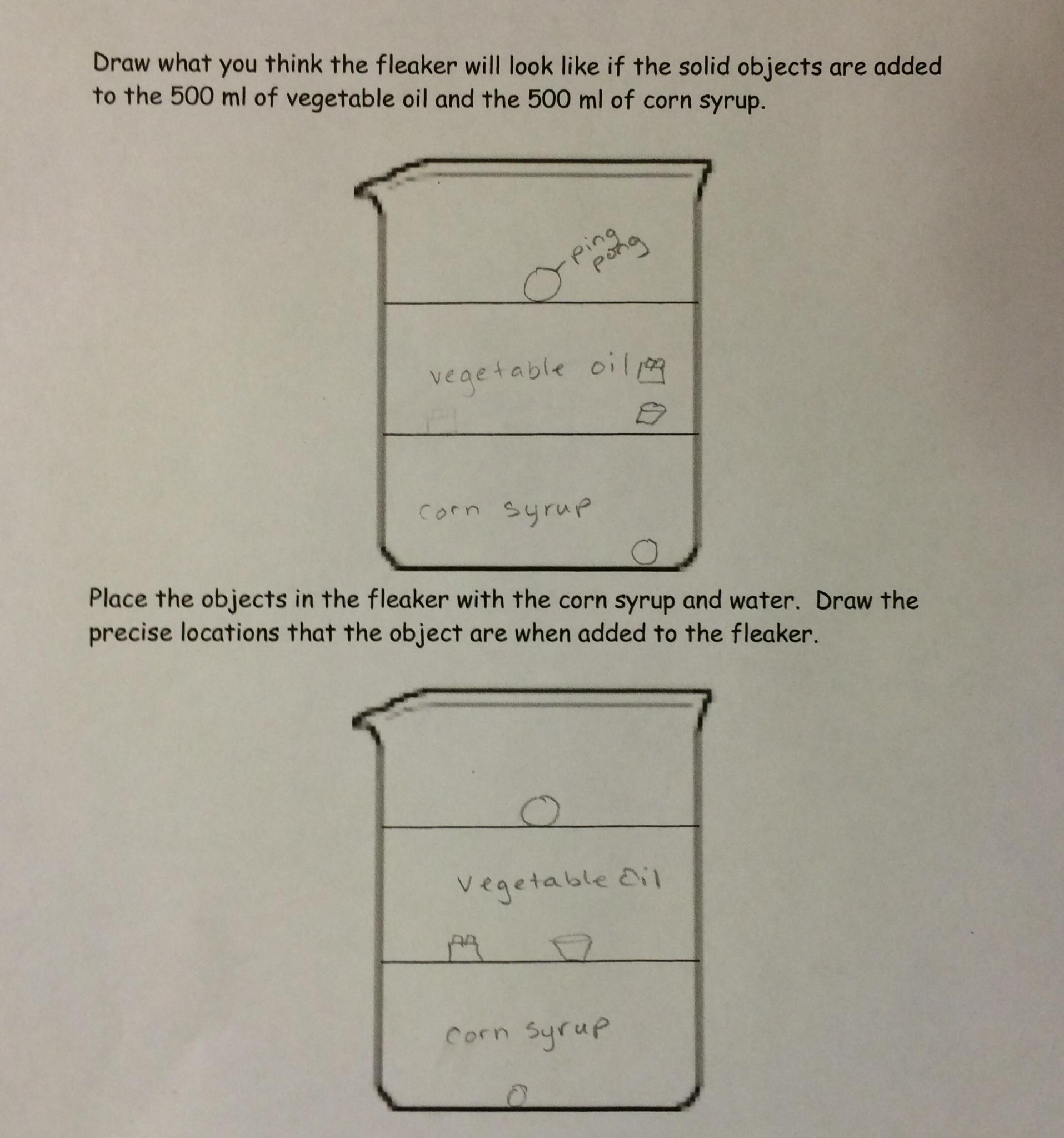 Lesson Density Column Lab
