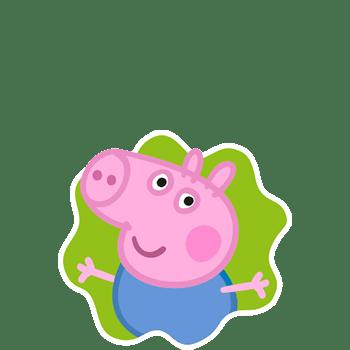 Geoge Pig, irmão da Peppa