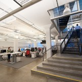 Companies like Intuit, Airbnb (pictured), Foursquare, and Salesforce all reinforce their values and product vision through the design of their office space.