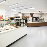 Great looking cafeteria