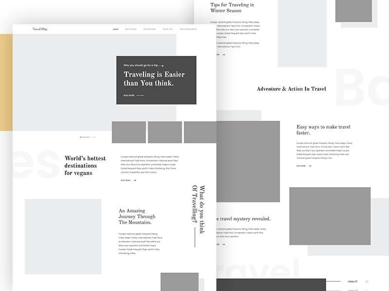 12 wireframe examples from some of our favorite UX designers Wireframing examples