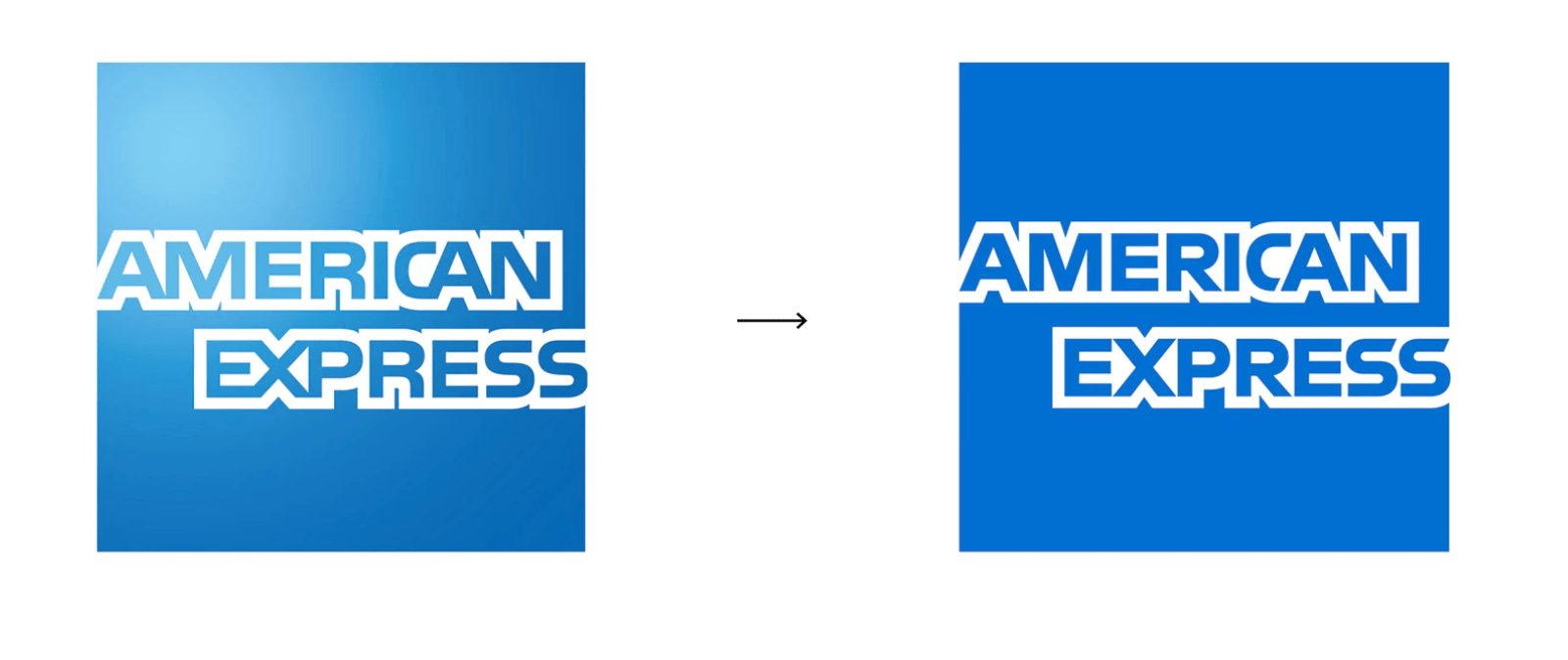 American Express new logo