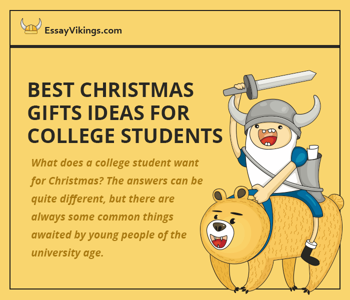 College age christmas gift ideas
