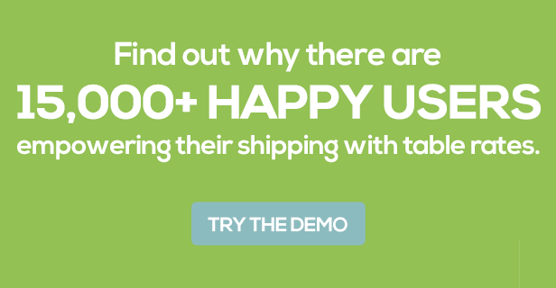 Table Rate Shipping for WooCommerce - 9