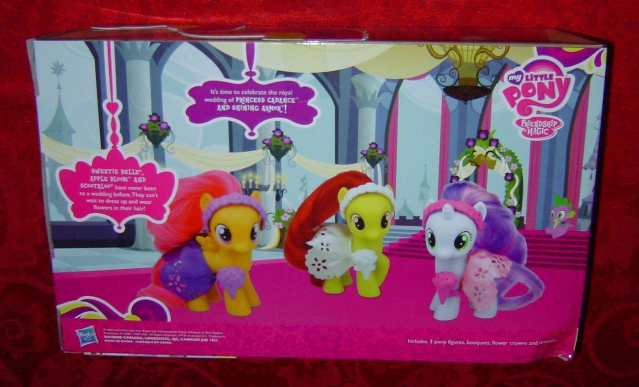 My Little Pony Wedding Flower Fillies Sweetie Belle Apple